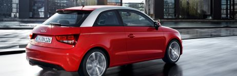 The Audi A1: brimming with character, intelligence and sportiness.