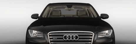 The Audi A8 L W 12: experience this large, distinguished luxury saloon.